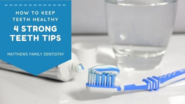 4 strong teeth tips