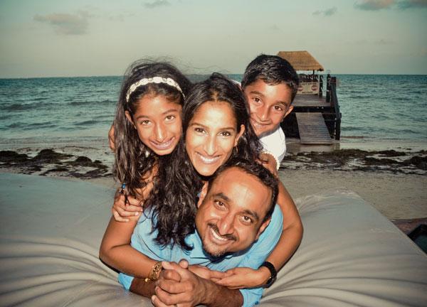 Dr. Patel's Family